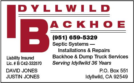 Idyllwild Backhoe