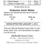 Click on image to view public notice rates