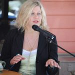 Rachel Resnick shares her story with Idyllwild audience