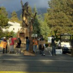 Group gathers for Occupy Idyllwild protest