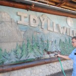 Darwin to restore Center of Idyllwild mural