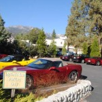 Corvettes make a splash in Idyllwild