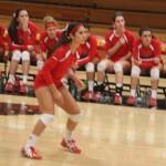 Hemet Girls Volleyball calms Pacifica