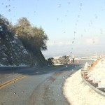 Edison truck turns over on Hwy. 74