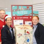 Santa's mail box now at Idyllwild Post Office