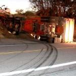 Semi truck loses brakes on Hwy. 243