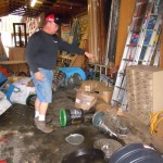Vehicle smashes Village Hardware merchandise in hit-and-run