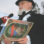 Austin as Dickens at next speakers series event