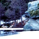 Winter visits Lake Fulmor