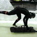 In a fast sport, Idyllwild skeleton athlete Salter keeps her head up