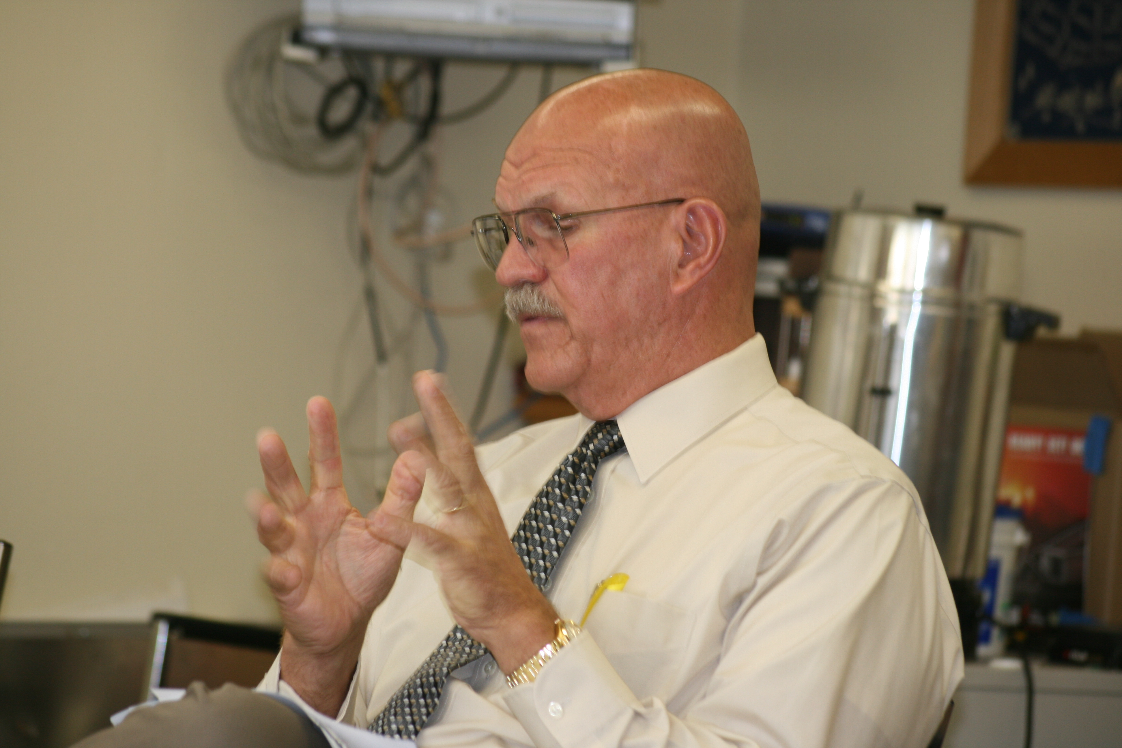 Former Crest Forest Fire Protection District Fire Chief Michael Sherman