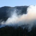 Lawler Fire poses little danger now