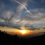 Outside Idyllwild: Chasing the sun …