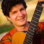 Jeff Peterson, slack key guitarist at Idyllwild Arts
