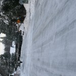Snow came, Pinyon roads icy
