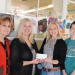 Art Alliance of Idyllwild donates to smARTS program
