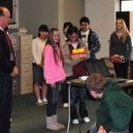 Japanese middle school students visit Idyllwild