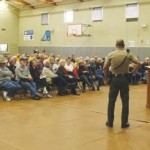 Sheriff's Idyllwild crime meeting draws capacity crowd