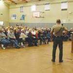 Sheriff's Idyllwild crime meeting draws capacity crowd