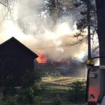 House burns on Tollgate Road