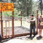 IA dedicates sustainability garden