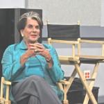 Sara Karloff speaks to Sci-Fi Horror class