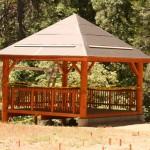 Community Center pavilion reaches completion