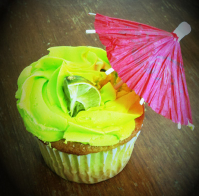Lola's famous margarita cupcakes. Photo by Halie Johnson