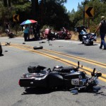 Motorcycle traffic collision