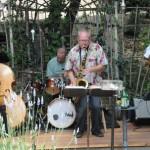 Creek House debuts new backyard stage