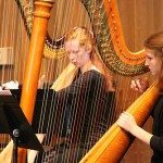 Harpists take the stage at Idyllwild Arts