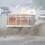 Summer's rains arrive with force