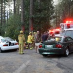 Traffic collision on Tollgate and Lake Lane