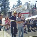 Town Hall kids visit IFPD