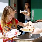 Students have fun at annual school barbecue