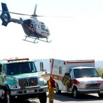 Motorcyclist injured in Hwy. 243 crash