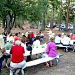 Nature Center thanks volunteers with dinner