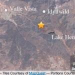 3.1 earthquake shakes Idyllwild area