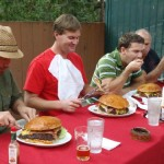 Ferro victorious in Lumber Mill's first Paul Bunyan Burger Challenge