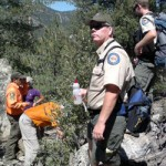 Hiker lost for 24 hours rescued