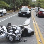 Four weekend accidents, three involve motorcycles