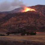 Range Fire burns 360 acres near Banning