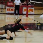 Hemet girls volleyball team beats Twentynine Palms in CIF 2nd round match