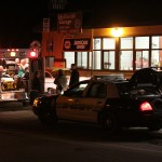 Double assault at the Chevron; local arrested
