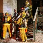 Heavy smoke alerts residents to smoldering fire