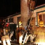Small structure fire Feb. 13
