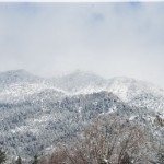 Many inches of snow on ground; Idyllwild roads cleared