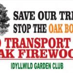Garden Club joins oak borer fight with roadside signs