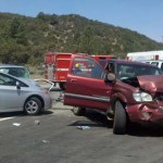 Two injured in Paradise Corner crash