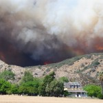Summit Fire in Banning burning westward; 40 percent contained